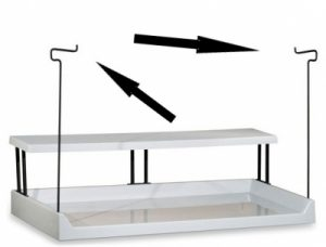 """Clothes Rack for """"TF"""" and """"TFD"""" Style Tables"""