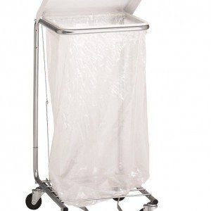 """Wire Elevated 7"""" Shelf for 692 Hamper (new style)- Reduces Bag Capacity"""