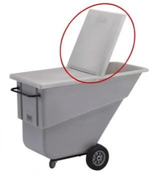 Lid for Large- 1.1 Cubic Yard Trucks (Gray)