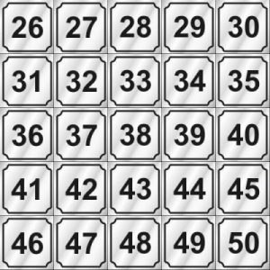 26-50 NUMBERS