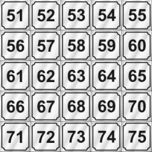 51-75 NUMBERS