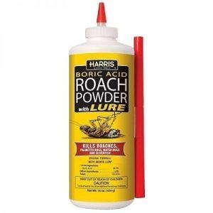 ROACH POWDER W/ LURE 16oz Bottle-ROACH PRUFE REPLACEMENT