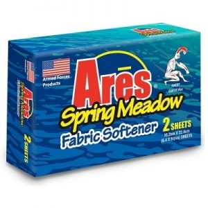 ARES FABRIC SOFTENER SPRING MEADOW 2CT SHEETS (154/CS)