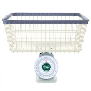ECONOMY LAUNDRY SCALE, 40 LB. CAPACITY - NOT LEGAL FOR TRADE