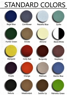 CACO STANDARD COLOR CHART
