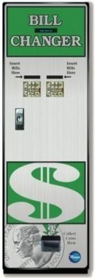 BC-1500FL FRONT LOAD Rowe Changer w/ Hi-Vis Bill Recycler (15001001)