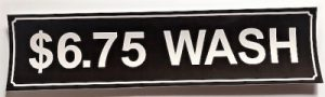 6.75 WASH DECAL (BROWN)
