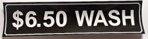 6.50 WASH DECAL (BROWN)