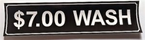 7.00 WASH DECAL (BROWN)
