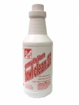 BOWL CLEANER 23% HCL 1 QUART