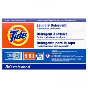 ULTRA TIDE PLUS BLEACH COIN VEND SINGLE USE DETERGENT (156)