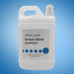 2 LITER CRYSTAL CLEAN INSTANT HAND SANITIZER WITH PUMP