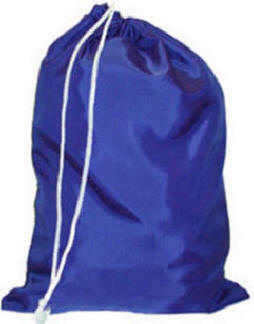 """NYLON LAUNDRY BAG 30"""" X 40"""" DZ. Asst. Colors Made in USA"""