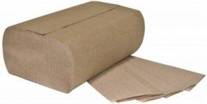 MULTIFOLD PAPER TOWEL. BROWN