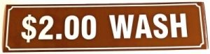 2.00 WASH DECAL (BROWN)