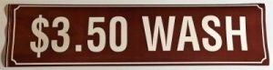 3.50 WASH DECAL (BROWN)