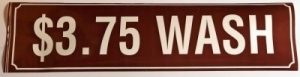 3.75 WASH DECAL (BROWN)