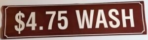 4.75 WASH DECAL (BROWN)