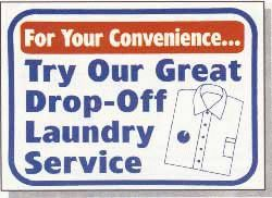 #L624 SIGN - FOR YOUR CONVENIENCE