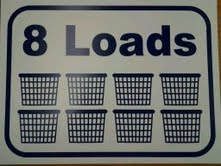 "8 LOAD SIGN 12"" X 16"""