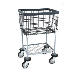 Deluxe Elevated Laundry Cart  Dura-Seven No Rack