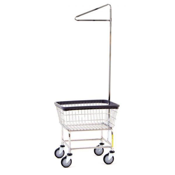 Standard Laundry Cart with Single Pole Rack* 100E91